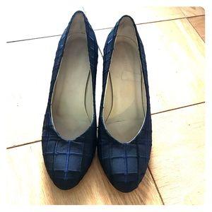 Bottega Veneta navy blue shoes size 7.5
